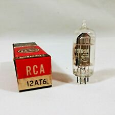 Vintage RCA Electronic Vacuum Tube 12AT6 Television Radio Repair Tested