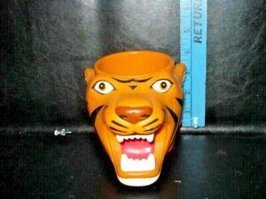 Tiger Mug Ringling Bros. And Barnum & Bailey Circus hard plastic
