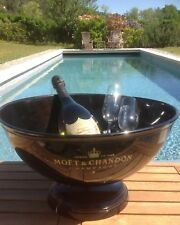 "Vintage French XXXL ""MOET & CHANDON"" Champagne, wine cooler, ice bucket."