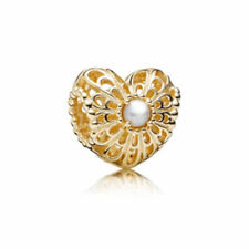Ciondoli di lusso perla oro gialli