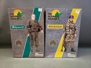The Ultimate Soldier WW2 German Action Figures Fallschirmjager, Wehrmacht