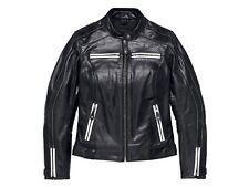 Harley Davidson Women's Zardar Perforated Leather Jacket, 97012-18EW, Size Small