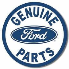 GENUINE FORD VINTAGE STYLE Tin Signs Auto Shop Motor Oil Can Display Dad Model t