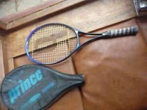 prince  pendulum  tennis  racket  with  cover