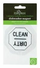 Fox Run 5935 Clean or Dirty Dishwasher Magnet Plastic