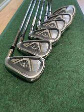 Callaway Edge Iron Set 6-SW Set Of 6 Irons Golf Regular Shafts NEW 2021 VERSION