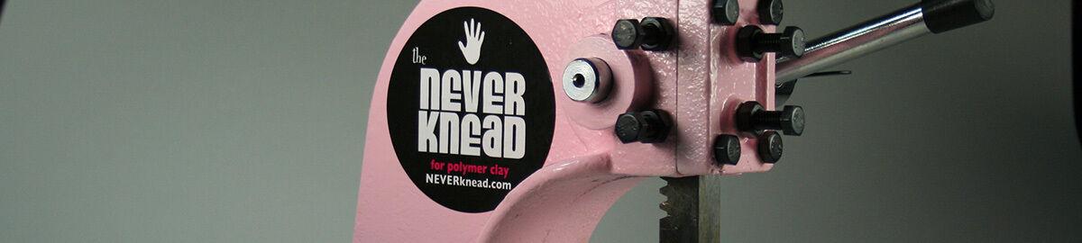 The NEVERknead Polymer Clay Kneader