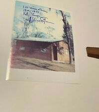 Lynyrd Skynyrd Signed Hell House 8 X 10 By Artmius Pyle + Piece Hell House DOCK!