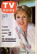1960 TV Guide October 22 - Bob Cummings hot rod; Debbie Reynolds; Untouchables