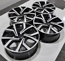 "18"" 2016 GOLF GTI CLUBSPORT STYLE BLACK WHEELS RIMS FIT VW GOLF MK5 6 7 5573"