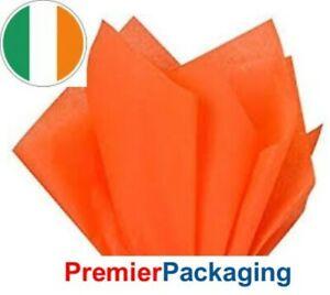 Orange Tissue Paper 450mm x 700mm