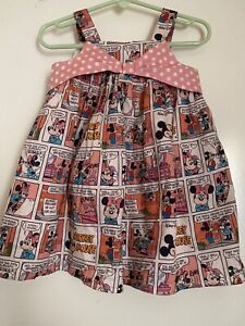 Pippa & Julie baby girl Disney Minnie Mouse dress 18 Month
