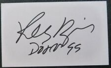 Robby Krieger signed index card-5X3 inch (The Doors)