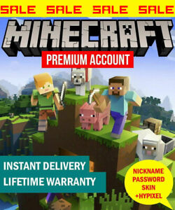Minecraft Java Premium Edition PC and MAC Code   With Warranty   100% worked