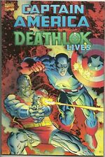 Captain America Deathlok Lives 1993 Marvel Graphic Novel TPB Prestige Mike Zeck