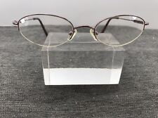 Authentic Coach Eyeglasses Natalie (303) Orchid 48-19 Pink Half Rimless 5815
