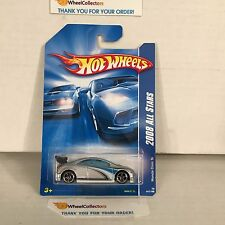 Honda Civic Si #47 * SILVER * 2008 Hot Wheels * D14