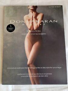 Donna Karan Evolution Ultra Sheer Pantyhose, Black, Tall