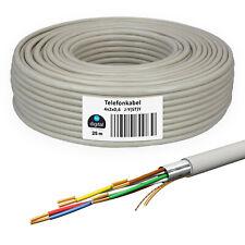 Telefonkabel 25m 4 x 2 x 0,6 Verlegekabel ISDN 8 Adern Telefon Kabel unterputz