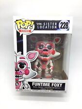 Funko Pop! Five Nights At Freddy 'hermana ubicación Funtime Foxy * + Regalo Gratis *