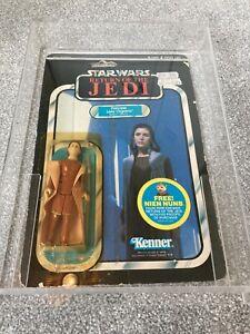 Star Wars ROTJ Vintage Figure Princess Leia Organa Bespin Gown MOC 48 Back