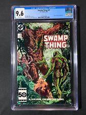 Swamp Thing #47 CGC 9.6 (1986) - John Constantine app