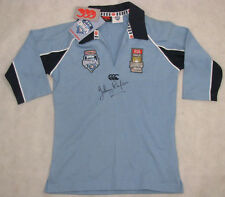 JOHNNY RAPER Hand Signed 25yr NSW Jersey  FULL Signature