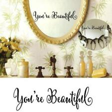 You Re Beautiful Wall Art Removable Home Window Wall Stickers Decal Decor JA