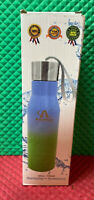 Amplim Double Wall Vacuum Insulated Stainless Steel Sports Water Bottle Eco