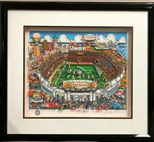 2D Pop Art | Charles Fazzino | CLEVELAND BROWNS Stadium | Artwork
