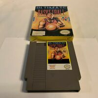 Ultimate Basketball (Nintendo Entertainment System, 1990) Tested with Box