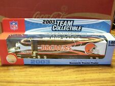 NFL, 2003 CLEVELAND BROWNS, TEAM COLLECTIBLES, FLEER COLLECTIBLES