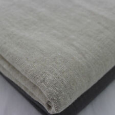 Natural Washed 100% Linen Fabric 135cm wide per metre