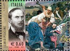 2011 italia repubblica 150° Unità I Protagonisti Carlo Pisacane usata