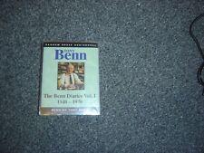 The Benn Diaries 1940-1990: v. 1 by Tony Benn (Audio cassette, 1995) new