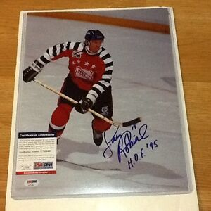 Larry Robinson Signed 11x14 All Star Photo PSA DNA COA Autographed Canadiens a