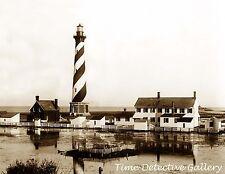 Cape Hatteras Lighthouse, North Carolina - 1893 - Historic Photo Print