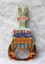 HARD ROCK CAFE BERLIN V14 CITY BOTTLE OPENER GUITAR MAGNET