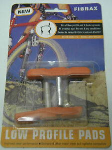 Fibrax ASH815 Low Profile Brake Pads Orange (379)