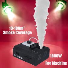 1pc 1500w Smoke Maker Fog Machine Macchina del fumo DMX Vertical Fogger Up Colpo