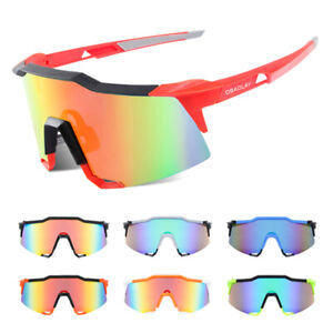 Outdoor Sports Sunglasses Bike Cycling Glasses MTB Goggles UV400 Racing Eyewear