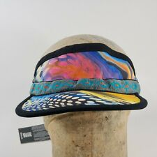 NEW KAVU Strapvisor Strapcap Visor Lightweight - Reef Party- Synthetic