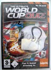 The Ultimate WORLD CUP QUIZ - Nuovo! - PC - tutto ITA  -  Idea Regalo!
