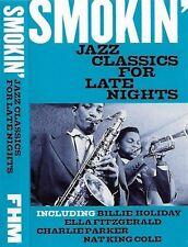 SMOKIN' JAZZ CLASSICS FOR LATE NIGHTS ELLA HOLIDAY PARKER CASSETTE ALBUM PROMO
