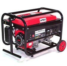 06262 Benzin Stromerzeuger 3000 mit Fahrwerk Generator Notstromaggregat fahrbar
