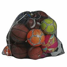 Mesh Equipment Bag, Keep your Sporting Gear Easily Organized, Drawstring Closure