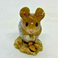 """Wee Forest Folk 2012 NM-1 """"Nibble Mouse"""" (Blue Belle) Signed """"AP"""""""