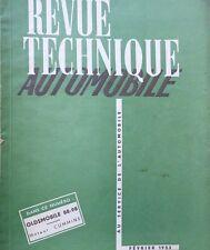 Revue technique OLDSMOBILE 88 et 98 RTA 82 1953 + moteurs CUMMINS