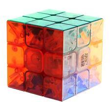 Moyu Yulong Transparent Magic Cube Crystal Stickerless 3x3x3 Speed Magic Cube