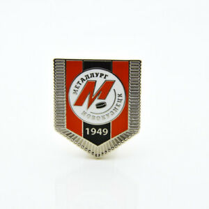 "KHL Metallurg Novokuznetsk ""Pennant"" pin, badge, lapel, hockey"